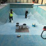 Michael Eavis Swimming Pool 3