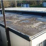 Portakabin Roof Repair / Refurbishment 1