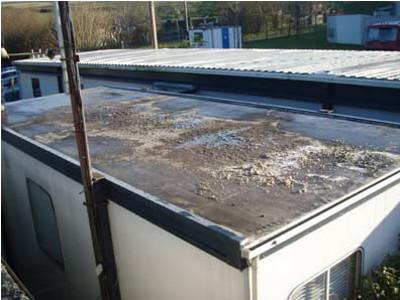 Portakabin Roof Repair / Refurbishment 1